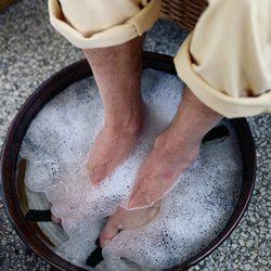 Ванночка от грибка ногтей