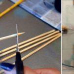 Как сделать ароматизатор с палочками